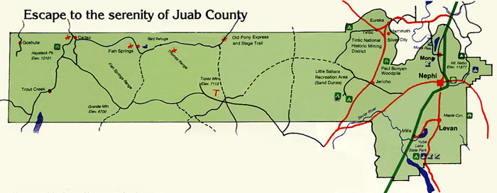 juab county Juab county is a county equivalent area found in utah, usa the county government of juab is found in the county seat of nephi with a total 8,82101 sq km of land and water area, juab.